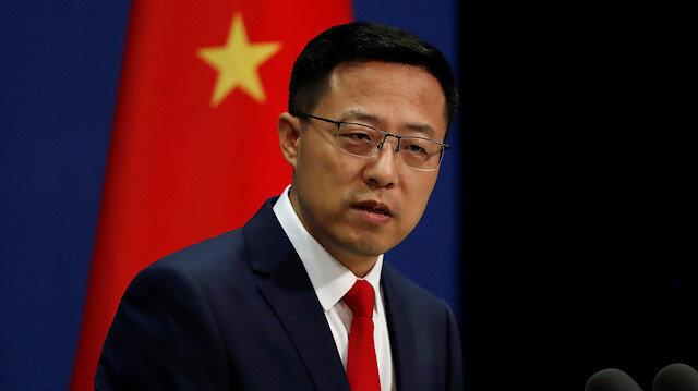 Chinese Foreign Ministry spokesman Zhao Lijian