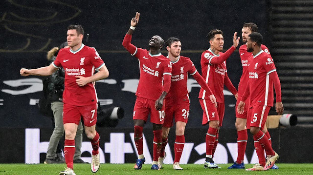 Liverpool Tottenham'a patladı (ÖZET)