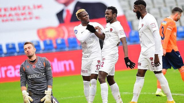 Aykut Kocaman'ı şoke eden skor: Hatayspor Başakşehir'i dağıttı