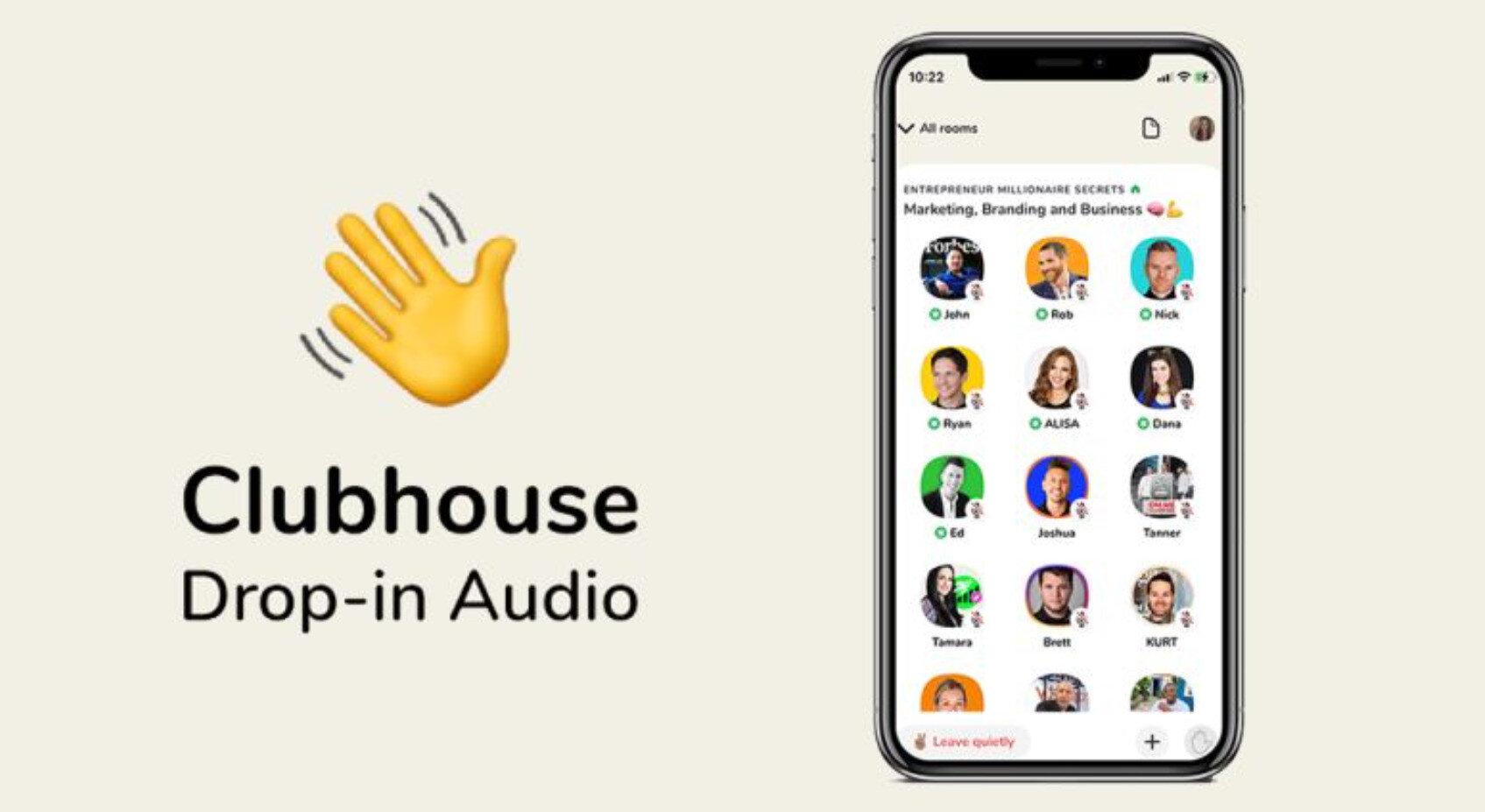 Clubhouse, tamamen mikrofon erişimine yani sese dayalı bir sosyal ağ.