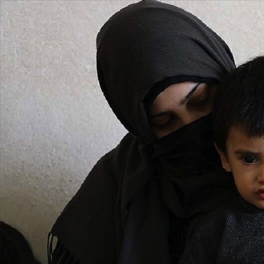 Syrian mother urges help as child risks losing vision