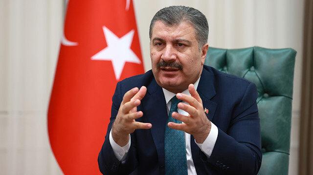 Turkish Minister of Health Fahrettin Koca