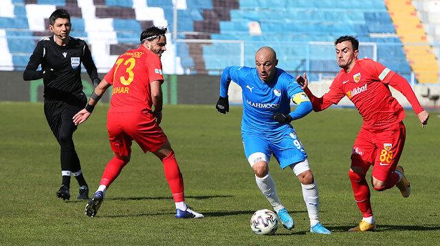 Erzurum'da kazanan çıkmadı