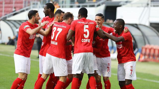 Sivasspor Ankara'da farklı kazandı