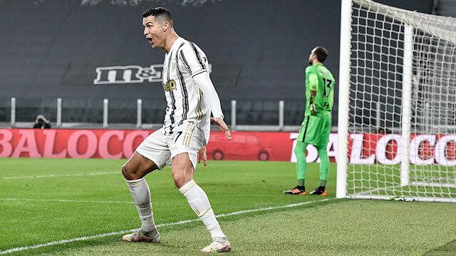 Ronaldo atıyor, Juventus zirveye yaklaşıyor
