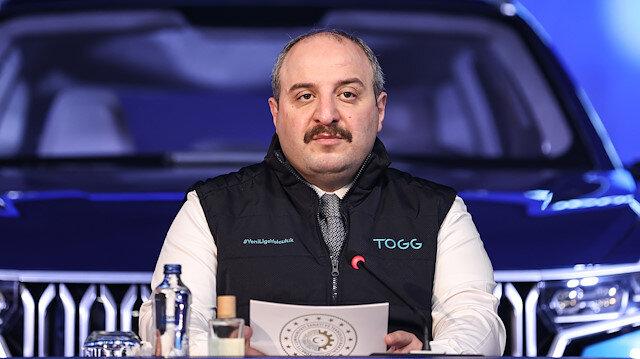 Turkey's Industry and Technology Minister Mustafa Varank