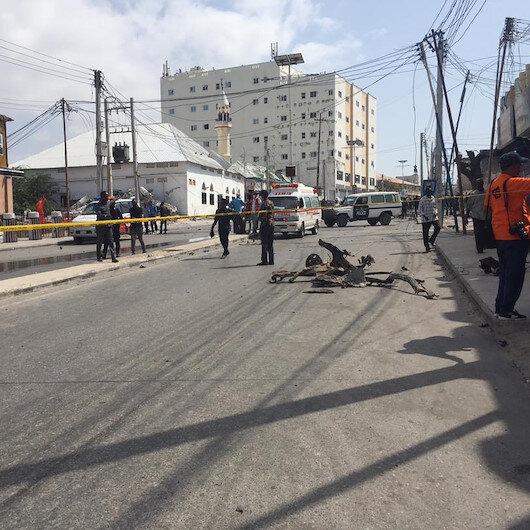 Somali'de parlamento binasının önünde patlama: 7 yaralı