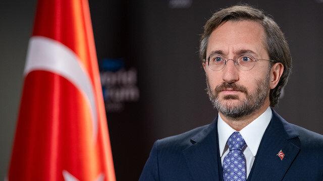Turkey's Communications Director, Fahrettin Altun