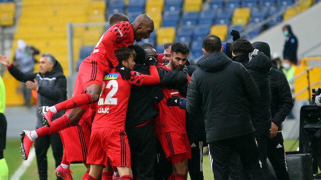'Tosun Paşa'nın dönüşünde Beşiktaş farklı kazandı