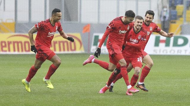 Beşiktaş'ta herkes gol atıyor