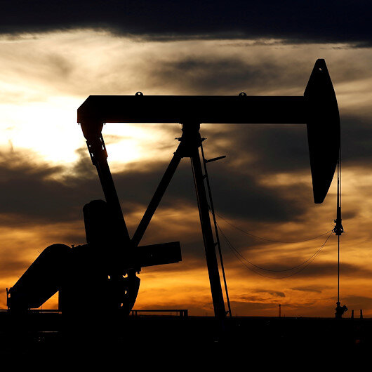 Oil prices up as cold front in Texas halts production