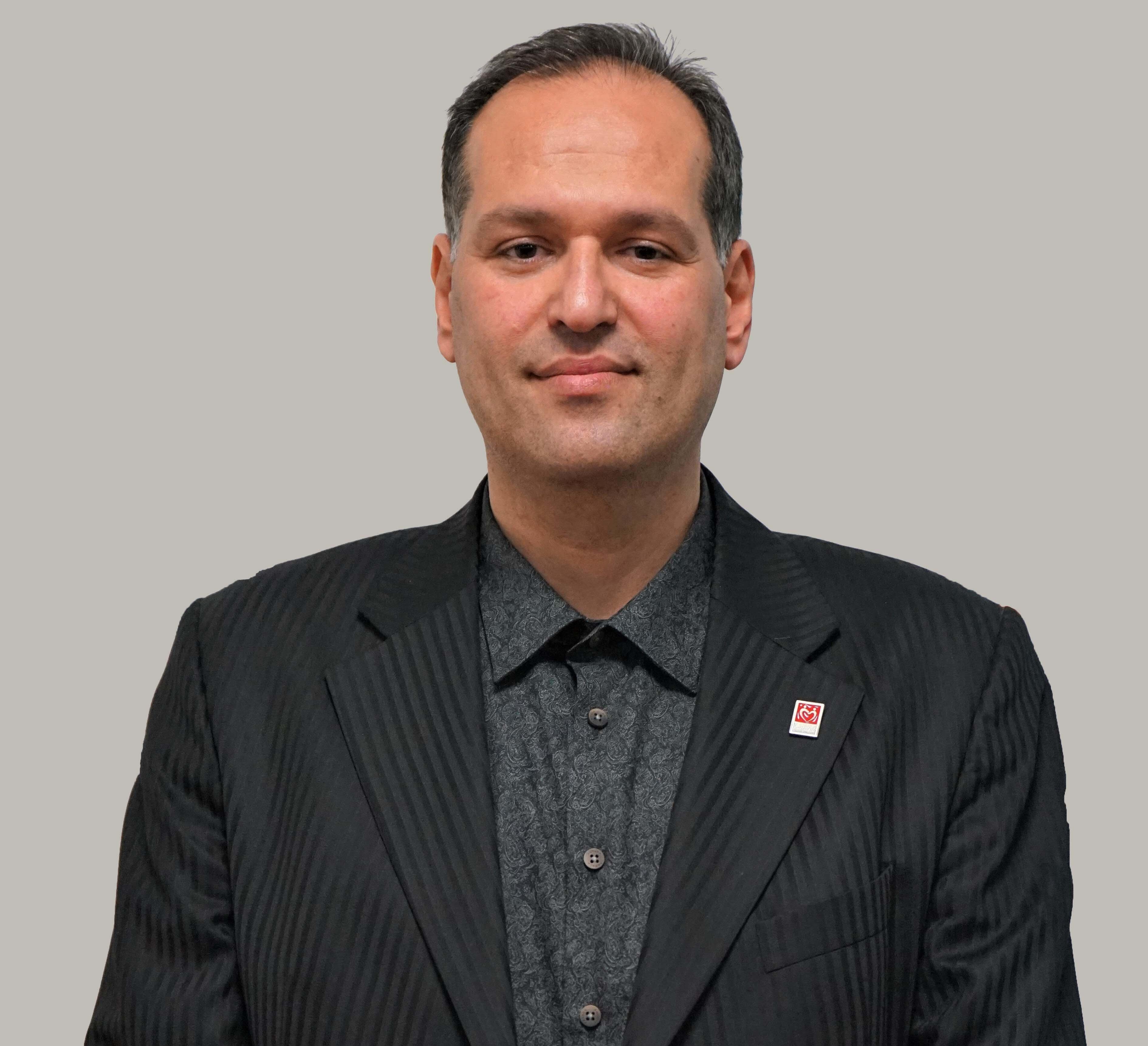 Yeryüzü Doktorları Yönetim Kurulu Başkan Yardımcısı Göz Doktoru Hasan Oktay Özkan.