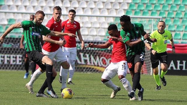 Süper Lig'de kritik karşılaşma: Denizlispor-Gençlerbirliği