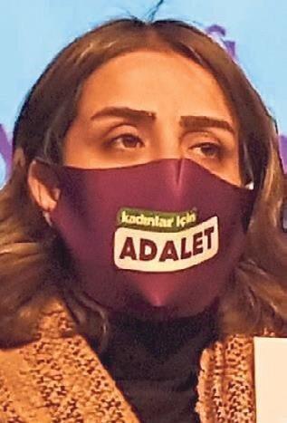 HDP'li Ayşe Acar Başaran.
