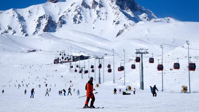 مركز أرجيس التركي.. مواصفات نموذجية تجعله مقصد عشاق التزلج