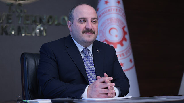 Turkish Technology and Industry Minister Mustafa Varank