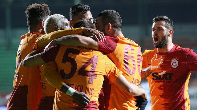 Galatasaray <br>7'de 7 yaptı
