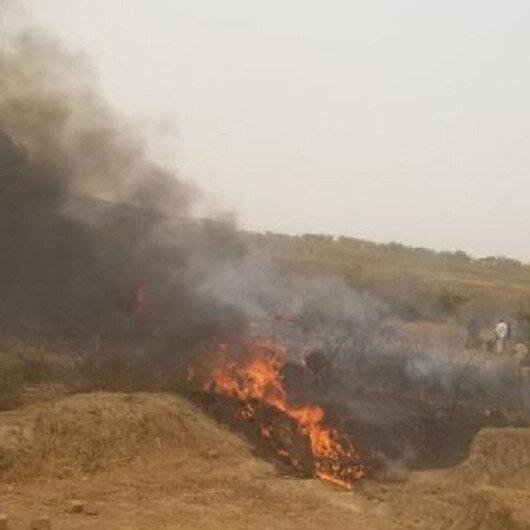 Nijerya'da feci kaza: Askeri uçak düştü 6 asker hayatını kaybetti