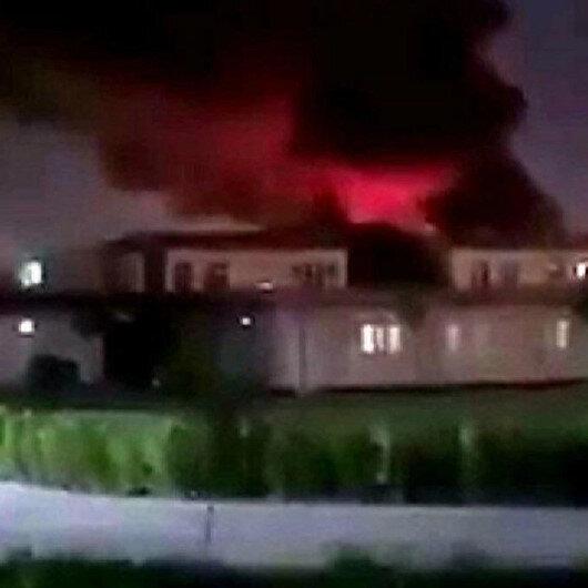 Irak'ta ABD Büyükelçiliği'nin bulunduğu Yeşil Bölge'ye roketli saldırı