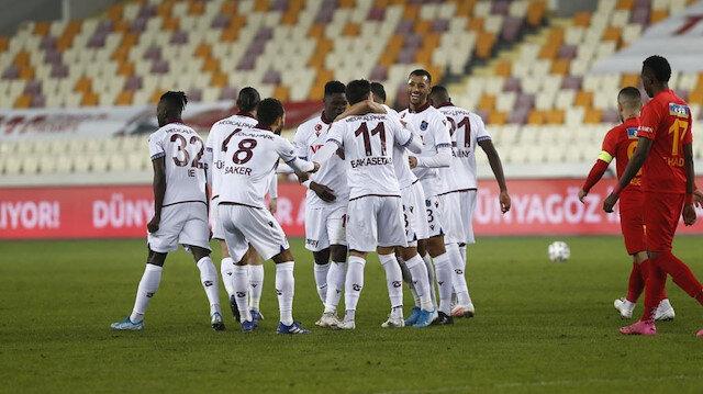 Trabzonspor'un <br>zirve inadı