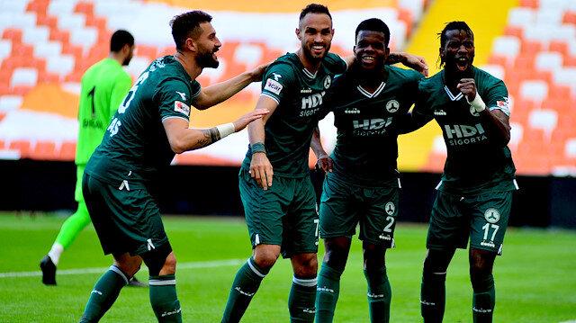 Giresunspor'dan müthiş galibiyet serisi: Adanaspor engelini de aştılar