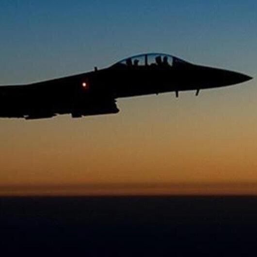ABD Suriye'de İran destekli gruplara ait bir hedefe hava saldırısı düzenledi
