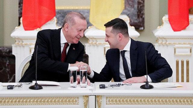 الرئيس الأوكراني يهنئ أردوغان بعيد ميلاده الـ67