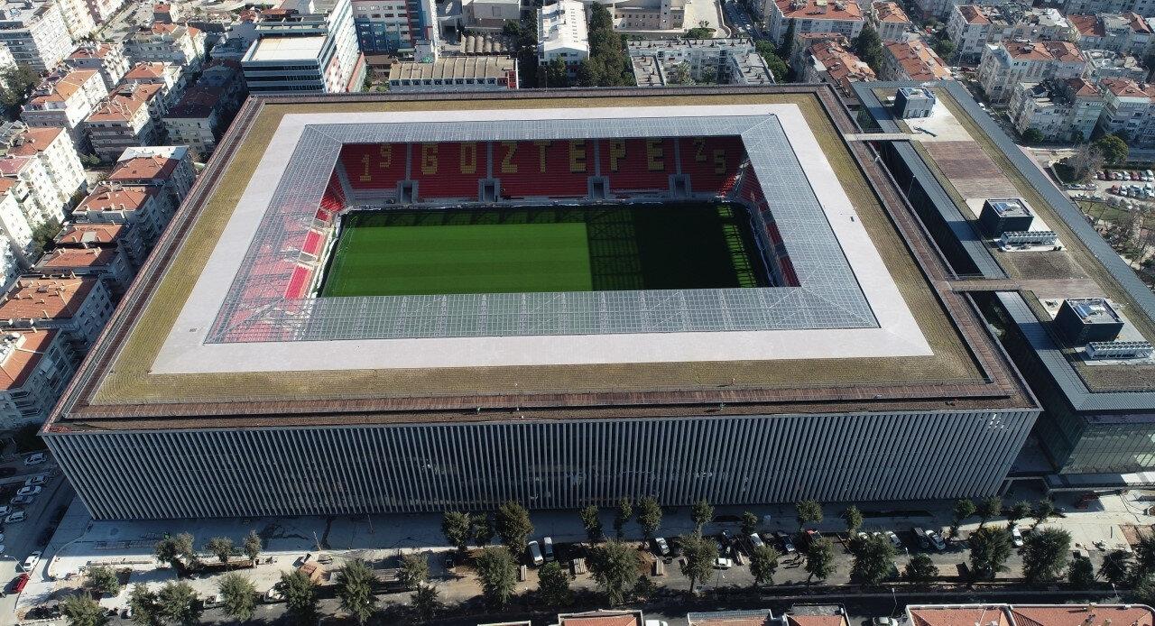 25 bin kapasiteli Gürsel Aksel Stadyumu