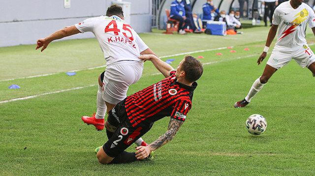 Başkentte kazanan yok: İki gol, iki kırmızı!