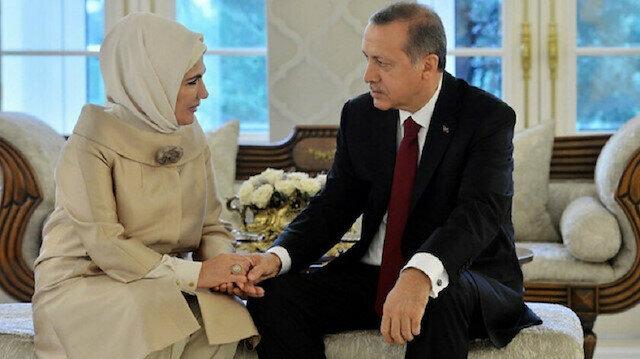 عيد ميلاد سعيد يا رجل الأمة.. سيدة تركيا الأولى تحتفل بعيد ميلاد زوجها