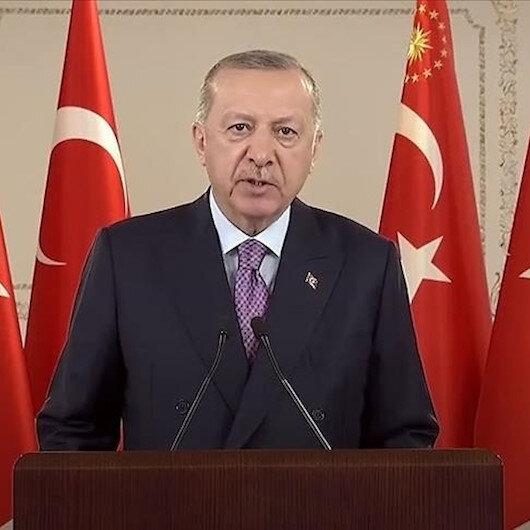 الرئيس أردوغان يشهد افتتاح نفق وسط تركيا
