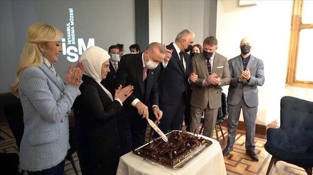 ممثلون في هوليوود يحتفلون بعيد ميلاد الرئيس أردوغان