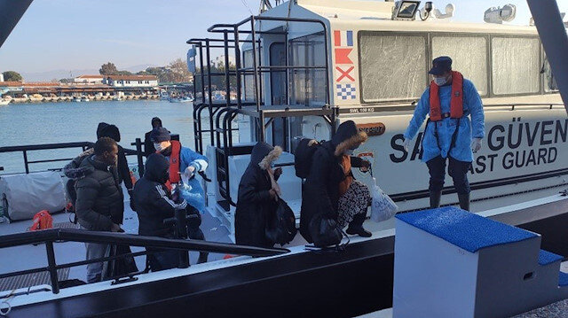 In 2020 Turkish Coast Guard saved 12,500 in its waters