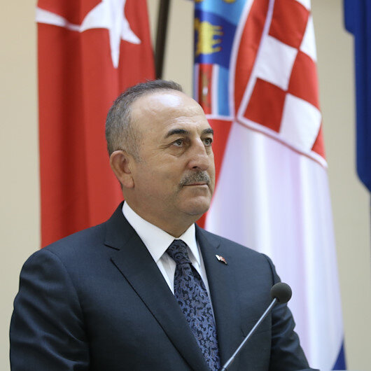 Turkish, Croatian foreign ministers hold phone talk