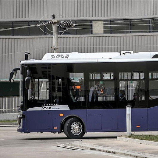 Europe's first self-driving bus hits the road in Spain