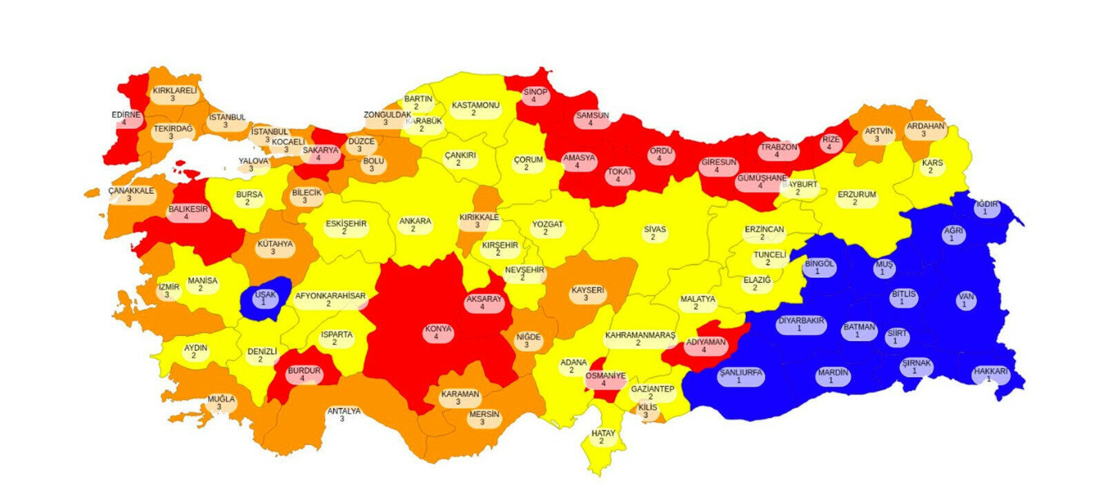 Risk haritası