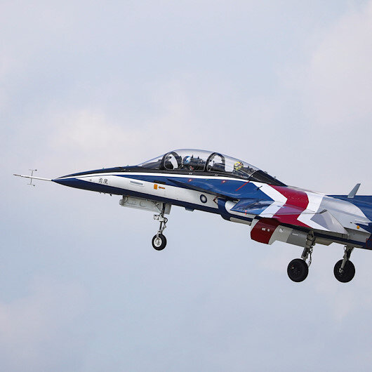 Taiwan tests indigenous jet trainers to replace US F-5s
