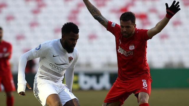 Sivasspor-Hatayspor maçında kazanan çıkmadı