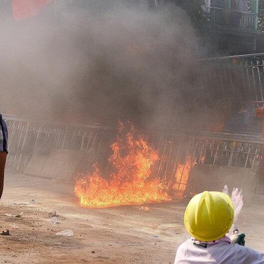 'Stop murdering, jailing protesters,' UN tells Myanmar