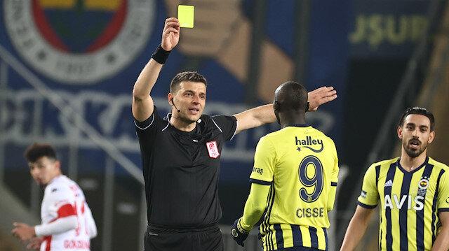 Fenerbahçe'den hakem tepkisi: