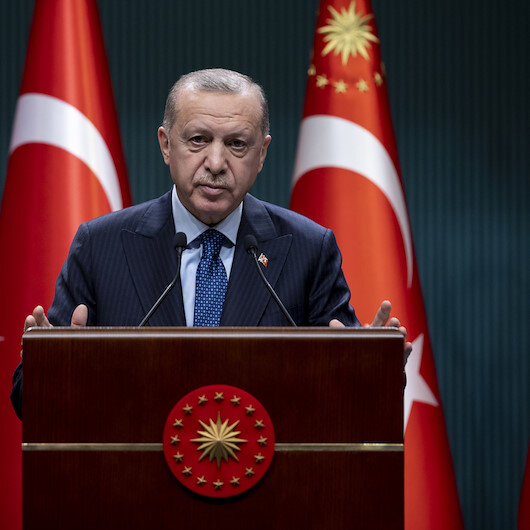 Erdogan offers condolences for 11 martyred soldiers