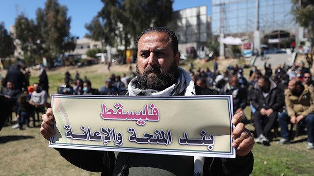 غزة.. موظفون يطالبون السلطة الفلسطينية بصرف مستحقاتهم المالية