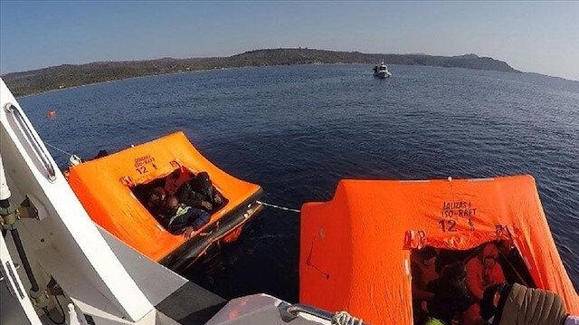 """تركيا..إنقاذ 36 مهاجرًا غير نظامي من الغرق ببحر """"إيجه"""""""