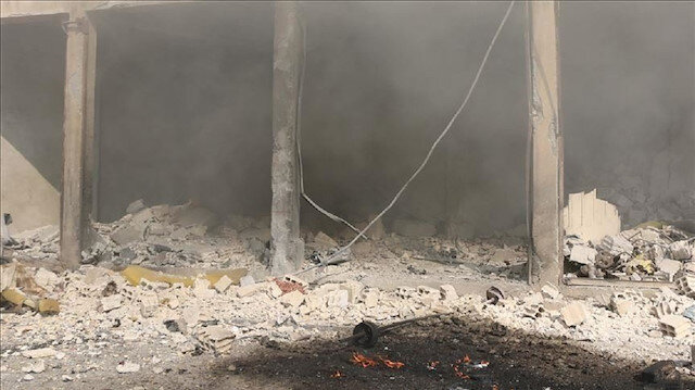 """إصابة مدني في اعتداء لـ""""ي ب ك"""" الإرهابي شمال سوريا"""