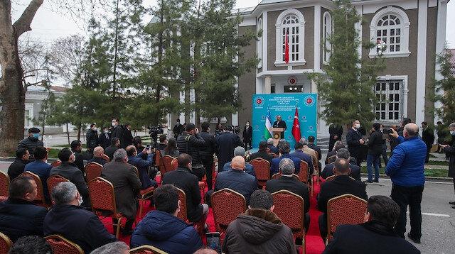 أوزبكستان: فتح تركيا قنصلية في سمرقند هدية فريدة لنا