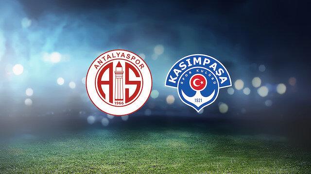 Antalyaspor-Kasımpaşa (CANLI)