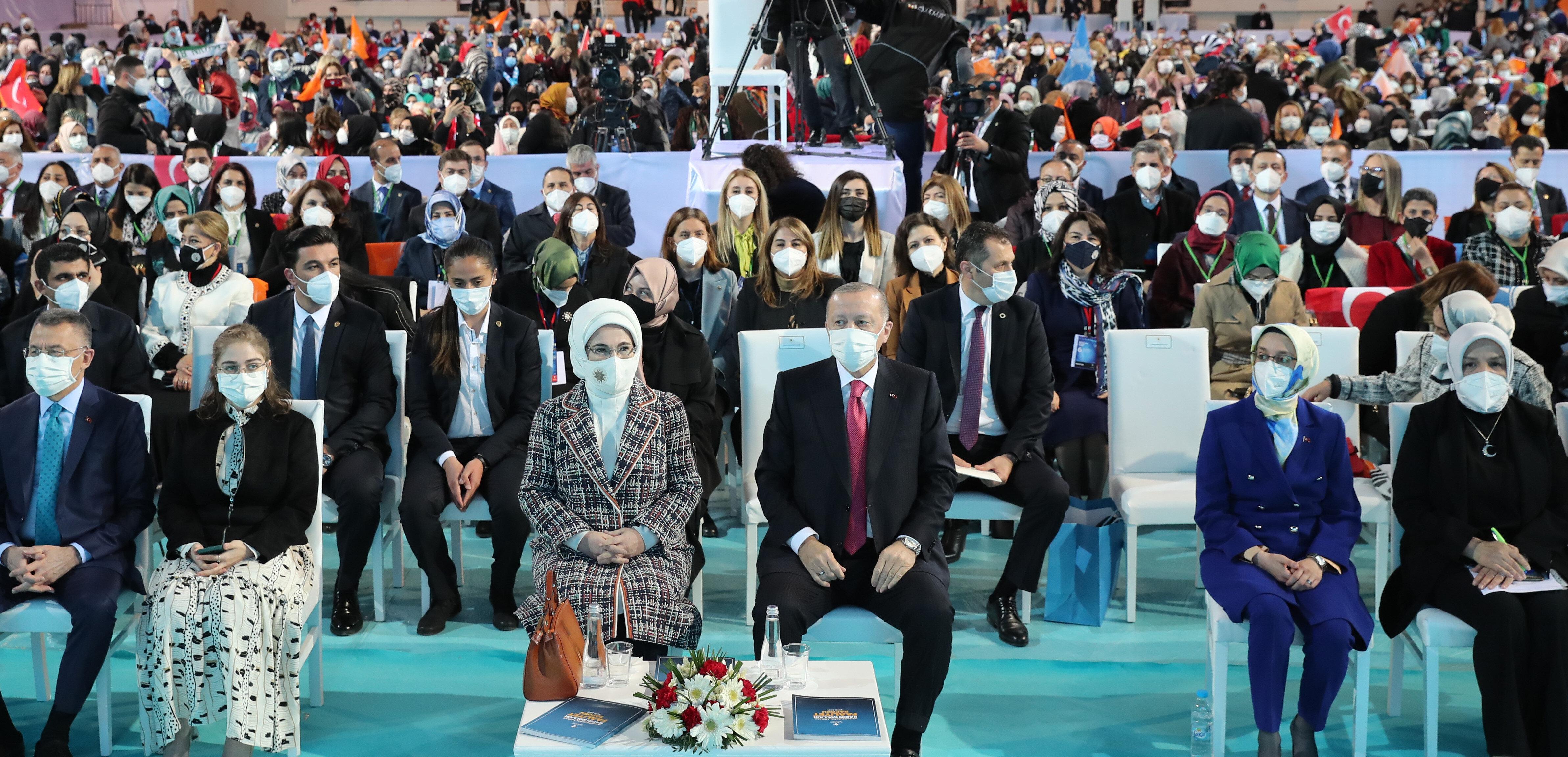 AK Parti Kadın Kolları Kongresi.