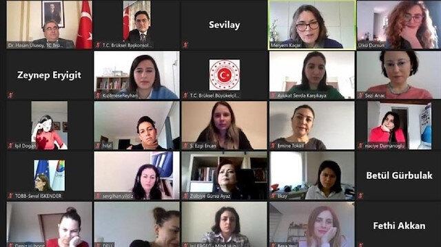 بلجيكا.. السفارة التركية تقيم فعالية للمرأة في يومها العالمي