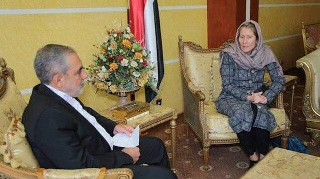 احتجاج يمني على لقاء الصليب الأحمر بسفير إيران لدى الحوثيين