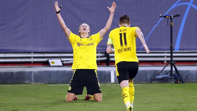 Borussia Dortmund Şampiyonlar Ligi'nde çeyrek finale yükseldi